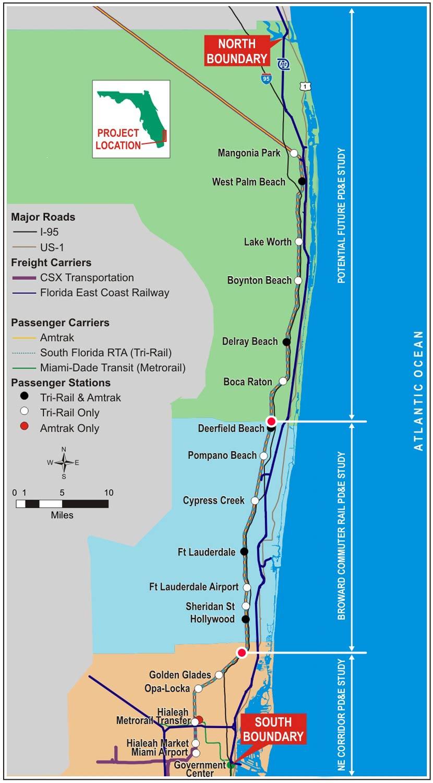 Trail Rail To West Palm Beach